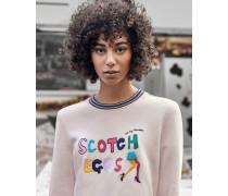 Sweatshirt Mit scotch Eggs-slogan