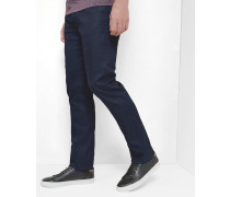 Jeans mit geradem Schnitt in Rinse-Waschung