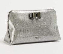 Bow Glitter Washbag
