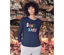 Sweatshirt Mit boat Race-slogan
