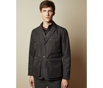 Wadded Jacket With Inner