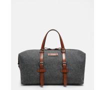 Reisetasche aus Wollgemisch