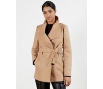 Short Wrap Coat