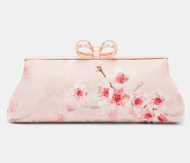 Clutch mit Soft Blossom-Print