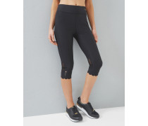 Leggings mit Wellensaum