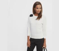 Sweater mit Oversize-Schleife