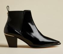 Western-Stiefel aus Hochglänzendem Leder