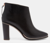 Ankle Boots Mit Zip-detail