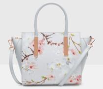 Tote Mit Oriental Blossom-print