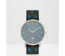 Armbanduhr mit Mocojum-Print