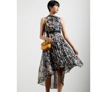 Jasmine Sleeveless Dip Hem Dress