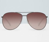 Fliegerbrille mit Stahlrahmen