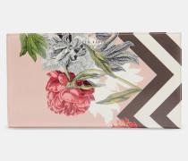 Reise-portemonnaie Mit Palace Gardens-print