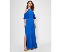 Cold Shoulder Chain Detail Maxi Dress