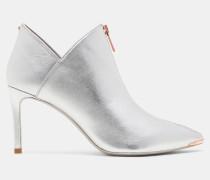Ankle Boots Aus Wildleder Mit Zipper