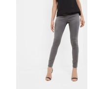 Verzierte Straight Fit Jeans