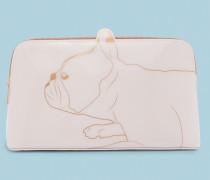 Kosmetiktasche Mit Cotton Dog-print