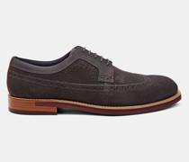 Nubuck Derby Brogue Shoe