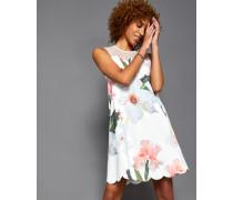 Kleid Mit Wellensaum Und Chatsworth Bloom Print