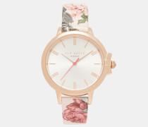 Uhr Mit Lederarmband Und Palace Gardens-print