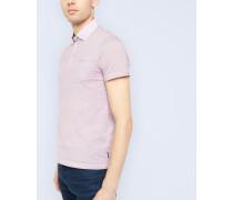 Polohemd aus Baumwolle mit geometrischem Print