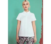 Baumwollhemd mit Biesendetail