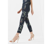 Slim-fit Hose Mit Entangled Enchantment-print