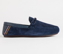 Moccasin Leather Slippers