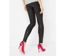 Gewachste Skinny-Jeans