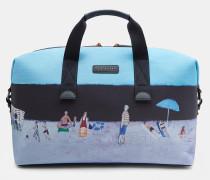 Reisetasche mit Limited Edition Strand-Print