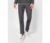 Strukturierte Slim Fit Chino