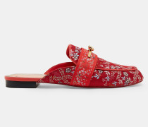 Slip-on Loafers mit Kyoto Gardens-Print