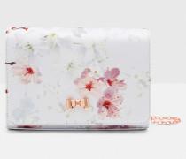 Abendtasche mit Oriental Blossom-Print