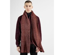 Two Tone Knitted Scarf