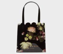 Kleiner Shopper mit Kensington Floral-Print