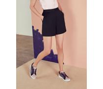 Shorts mit weitem Bein