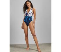 Badeanzug mit Bluebell-Print