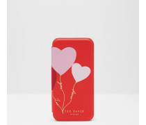 iPhone 6/6s/7-Hülle mit Herzapplikation