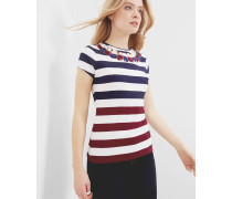 T-Shirt mit Rowing Stripe-Print