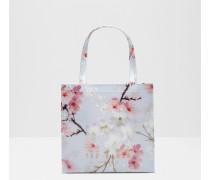 Kleiner Shopper mit Oriental Blossom-Print
