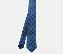 Krawatte Aus Seiden-jacquard Mit Kachelmuster