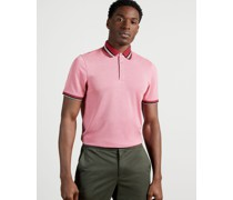 Stripe Collar Polo Shirt