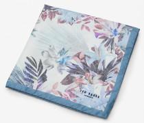 Einstecktuch mit floralem Muster