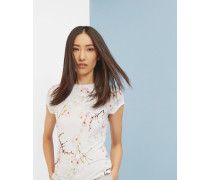 T-Shirt mit Oriental Blossom-Print