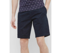 Florale Chino-Shorts