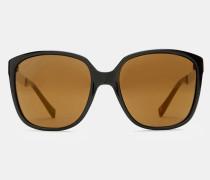 Oversized-sonnenbrille Mit Metallbügel