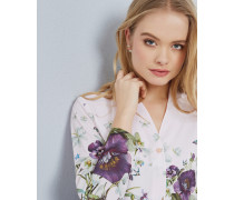 Bluse Mit Entangled Enchantment-print
