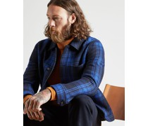 Wool Checked Jacket