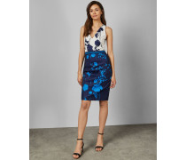 Bodycon-Kleid mit Racerback und Bluebell-Print
