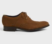 Nubuck Brogue Shoe